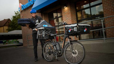 Rad Power Bikes To Deliver Domino's Pizza