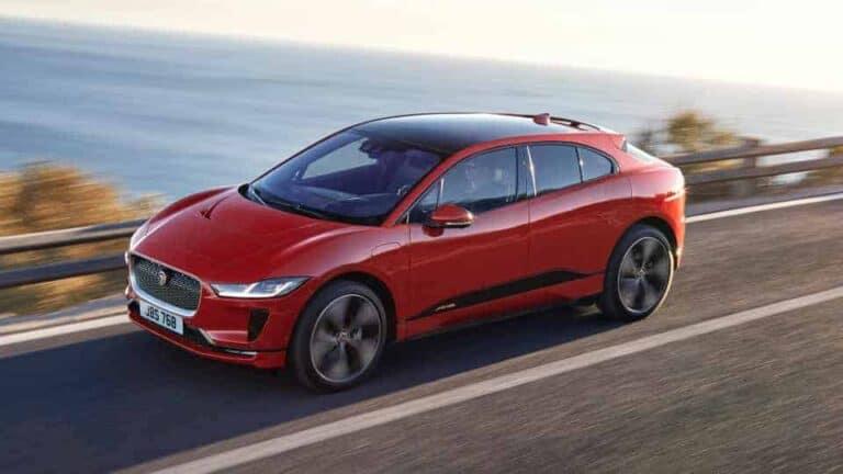 Jaguar I-Pace EV Driving