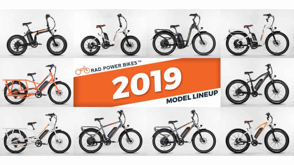 Rad Power Bikes 2019 Lineup