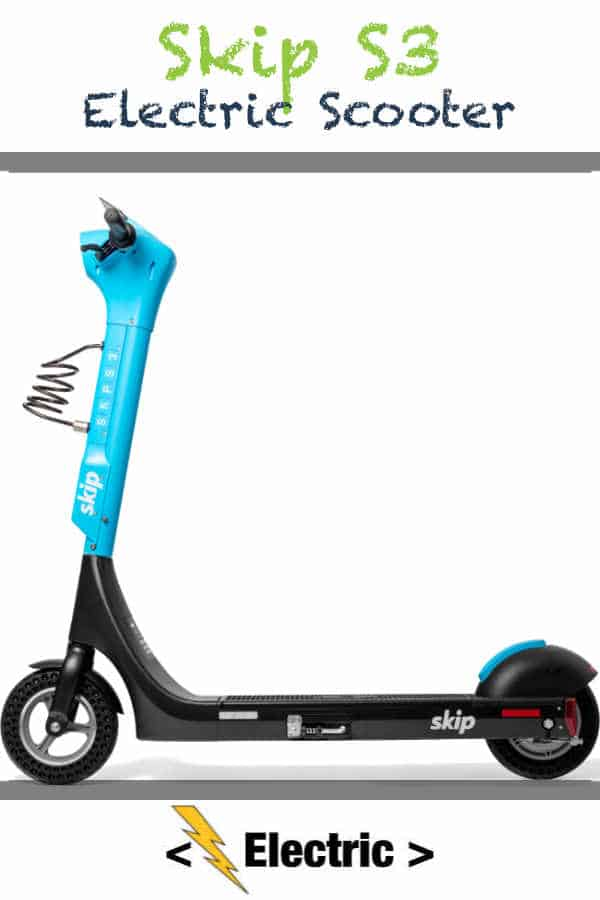 Skip S3 Electric Scooter Outed With New Batteries