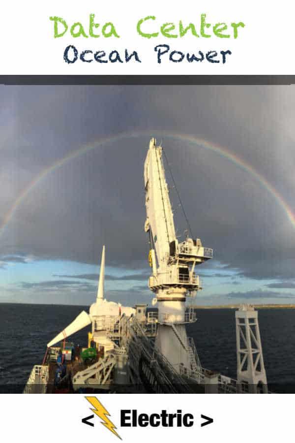 Ocean Power Data Center Being Built In Scotland