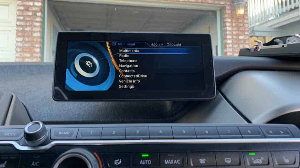"BMW i3 10.25"" Display Installed"