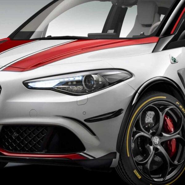 BMW i3 DNA Spliced With Alfa Romeo Giulia DNA