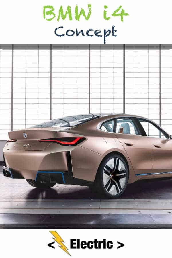 BMW i4 Concept Leaks