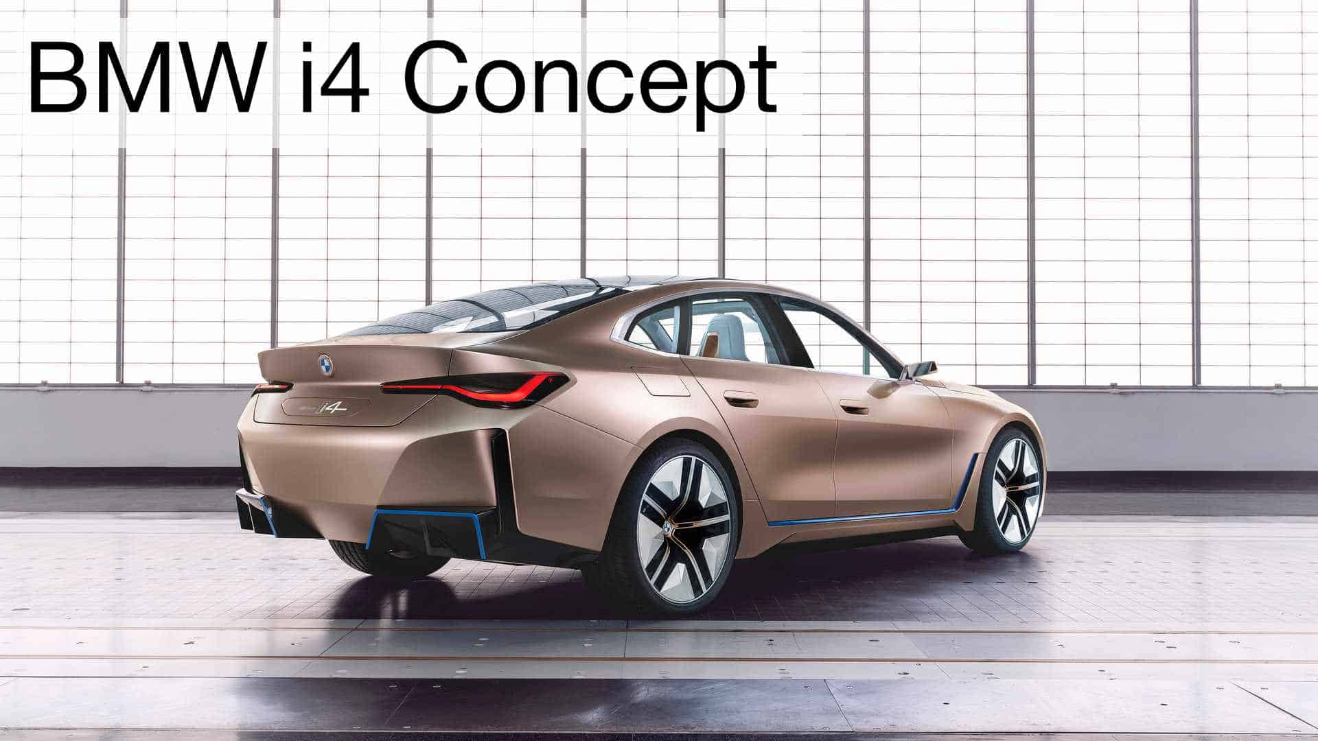 BMW i4 Concept Right Rear
