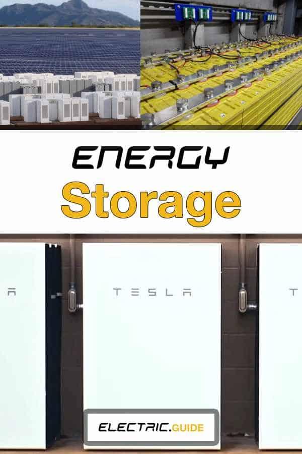 What Is Renewable Energy Storage?