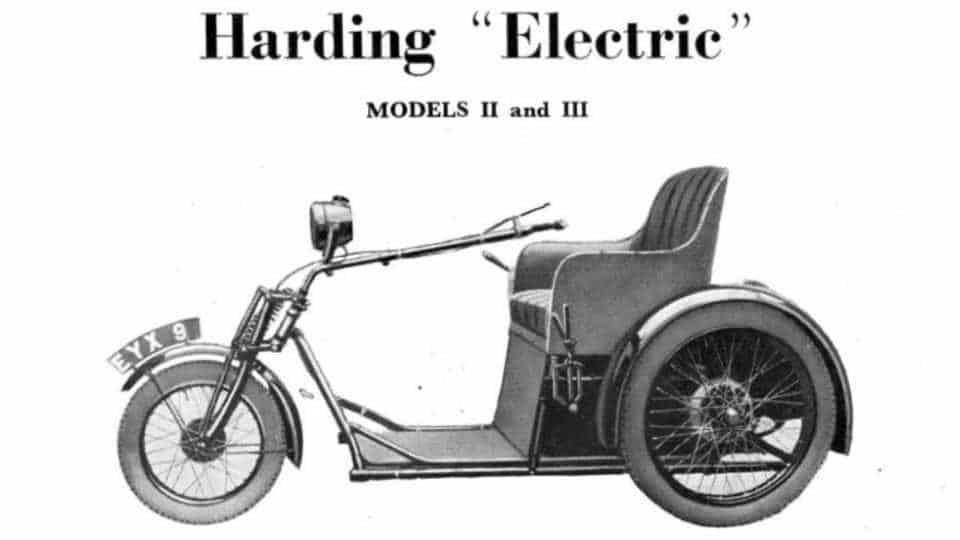1930 Harding Electric Invalid Transport