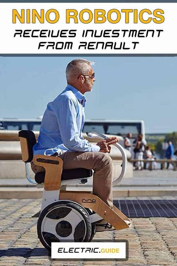 Nino Robotics Receives Electric Wheelchairs Investment