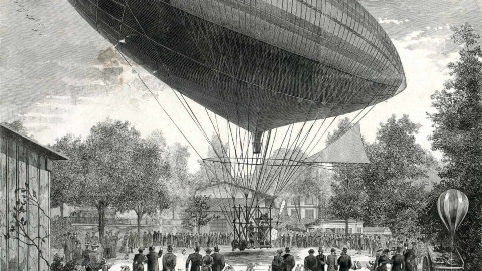 1883 Tissandier Electric Airship