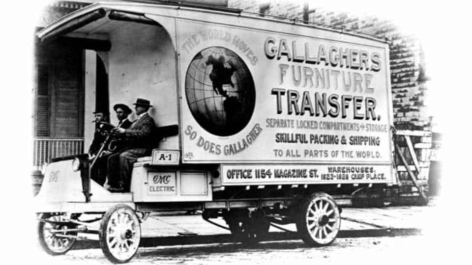 1913 GMC Electric Delivery Truck