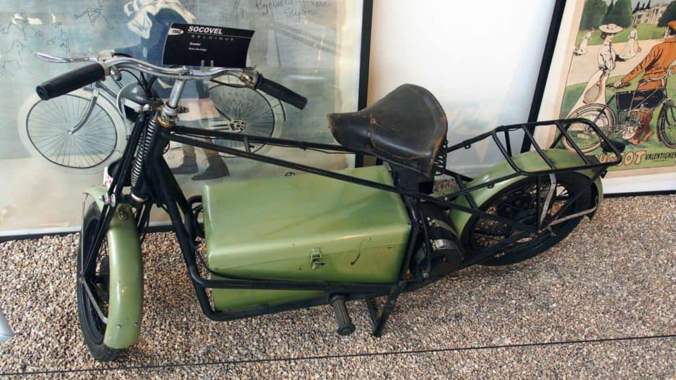 1942 Socovel Electric Motorcycle