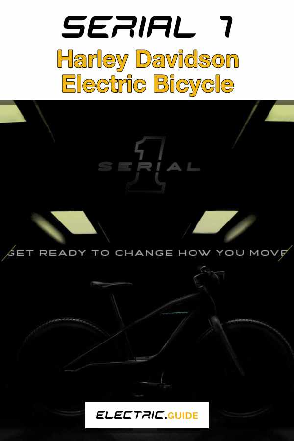 Serial 1 Cycle Company Harley Davidson eBike Spin-Off