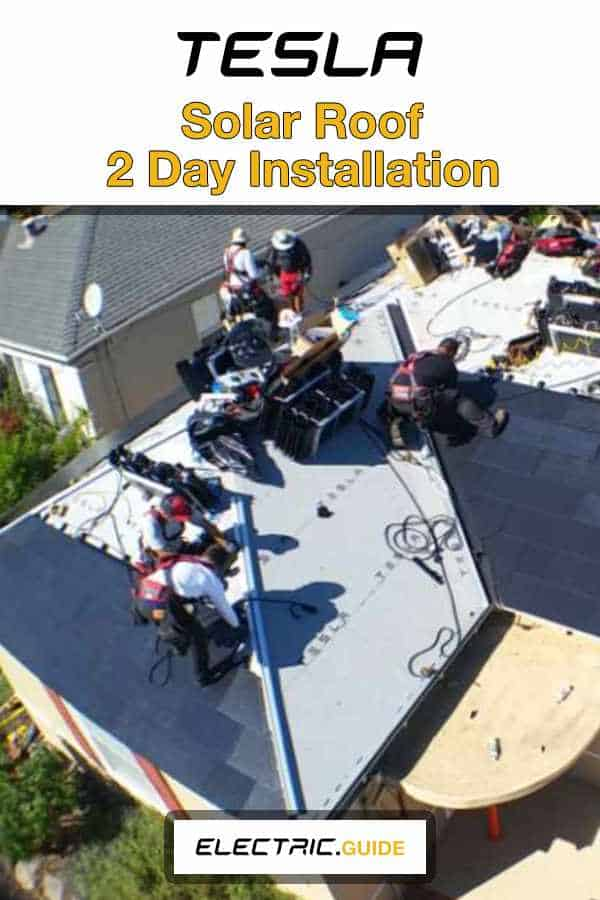 Tesla Solar Roof Installed In Less Than 2 Days