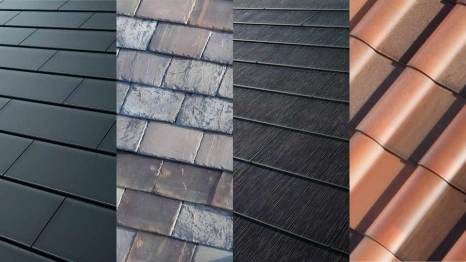 Tesla Solar Roof Colors