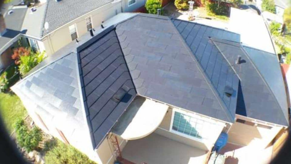 Tesla Solar Roof Install Day 2 - 2:00 PM