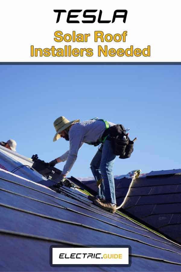 Tesla Solar Roof Installers Needed, Training Provided
