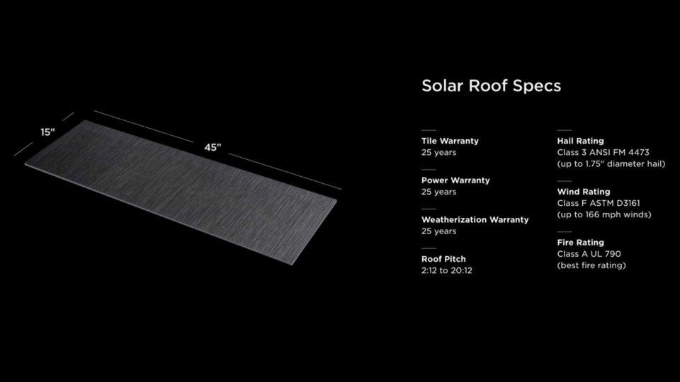 Tesla Solar Roof Warranty