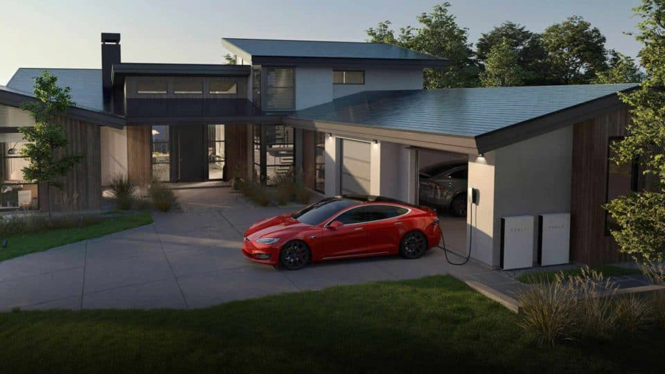 Tesla Solar Roof With Powerwall