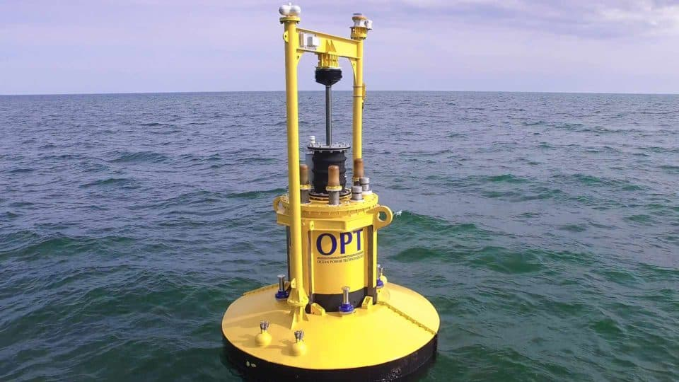 Wave Energy Point Absorber Buoy